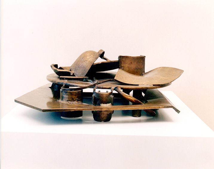 image: TABLE BRONZE LOTUS