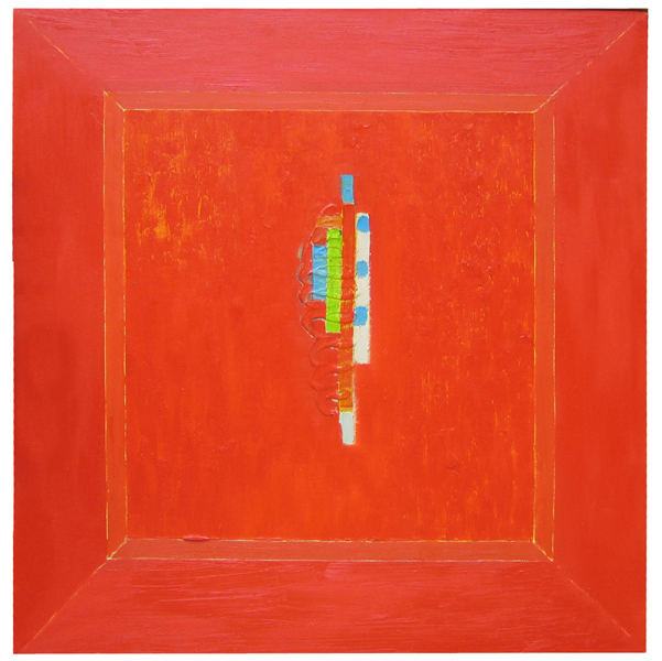 image: ABSTRACT PAINTING 2: RED STUDIO